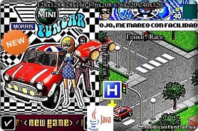 Mini morris Funcar / Забавный автомобиль Мини-Моррис